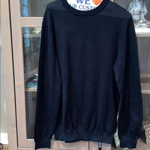 Stussy Black Crewneck Sweater
